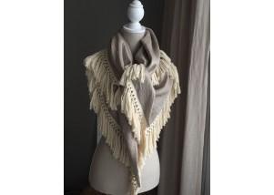 sjaal goud